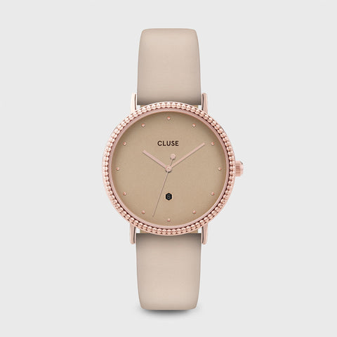 CLUSE LE COURONNEMENT ROSE GOLD/GOLD DUST WATCH