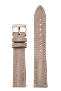HAZELNUT LEATHER/ROSE GOLD BUCKLE - CLS059