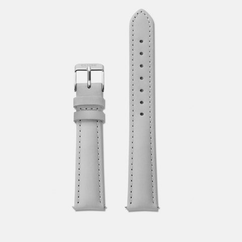 CLUSE MINUIT GREY LEATHER/SILVER BUCKLE - CLS320
