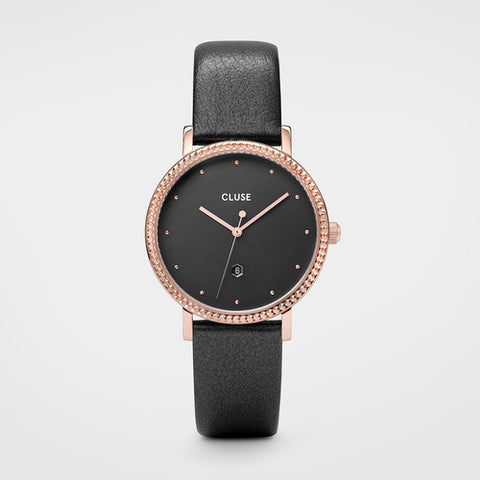 LE COURONNEMENT DARK GREY LEATHER/ROSE GOLD/DARK GREY DIAL