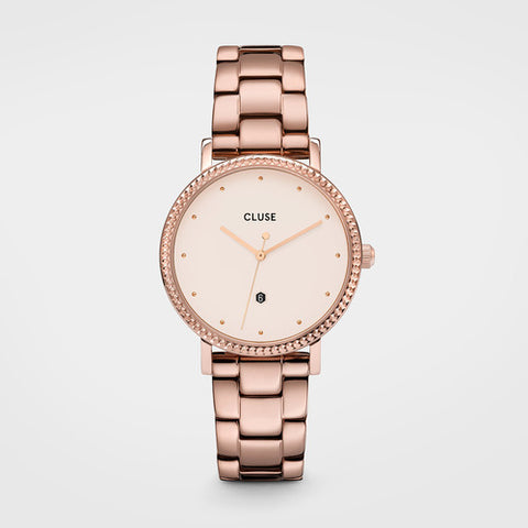 LE COURONNEMENT ROSE GOLD/WINTER WHITE/ROSE GOLD LINK