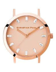 CHRISTIAN PAUL 43MM LUXE PINK DIAL & ROSE GOLD CASE - LUX-PNK-RG-43MM