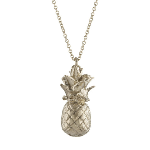 ALEX MONROE PINEAPPLE NECKLACE