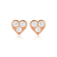 Georgini Cupid Earring Rose Gold