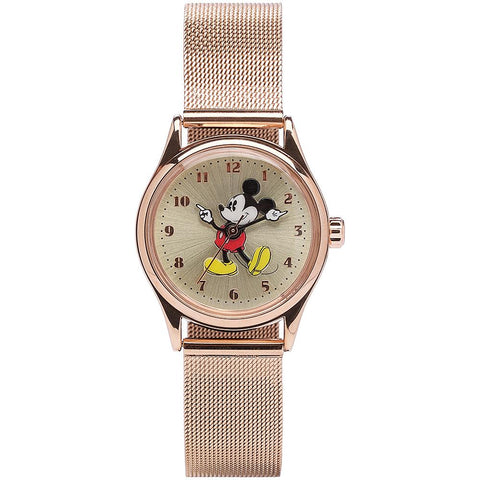 Disney Original Mickey Gold Mesh Watch 34mm
