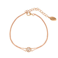 MINI MOSAIC ROSE GOLD BRACELET