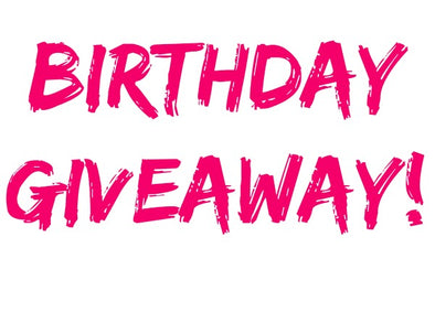 MARCH - The Month of Birthday's and Giveaways!