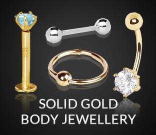 Solid Gold Body Jewellery