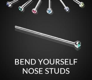 Bend Yourself Nose Studs