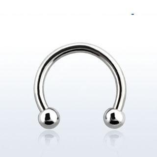 Surgical Steel Horseshoe - Pierced n Proud