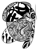 Meditation Series 4-Pack (Pack #1) - Printable Coloring Pages