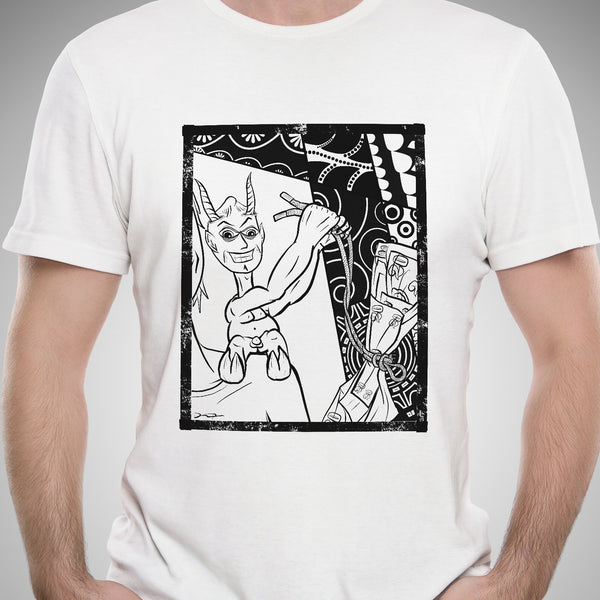 "Just the Tip ""Scapegoat"" Color-It Yourself T-Shirt"