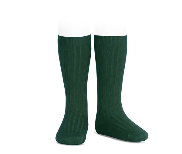 Condor Ribbed Knee High Sock Moss