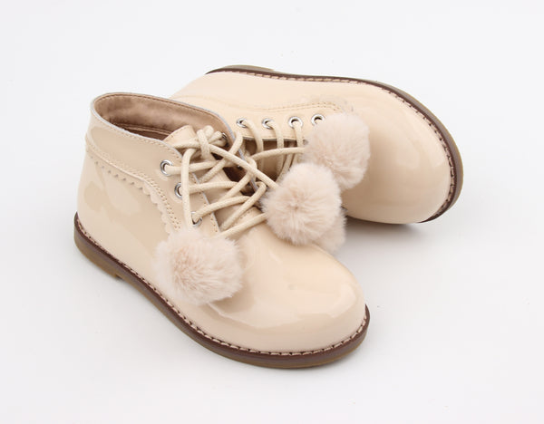 Kingston Boots Cream