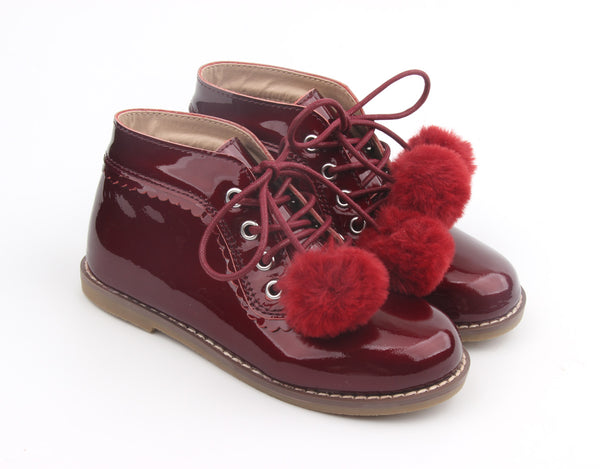 Kingston Boots Plum