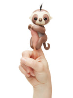 Fingerlings Sloth Kingsley (Brown with Black Hair)