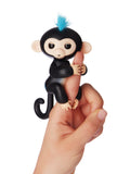 Fingerlings Finn (Black with Blue Hair)