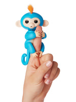 Fingerlings Boris (Blue with Orange Hair)