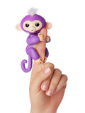 Fingerlings Mia (Purple with White Hair)