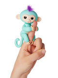 Fingerlings Zoe (Green with Purple Hair)
