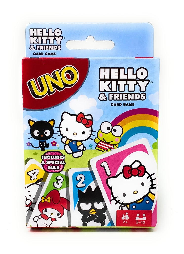 Hello Kitty and Friends UNO Playing Card Game by Mattel Games