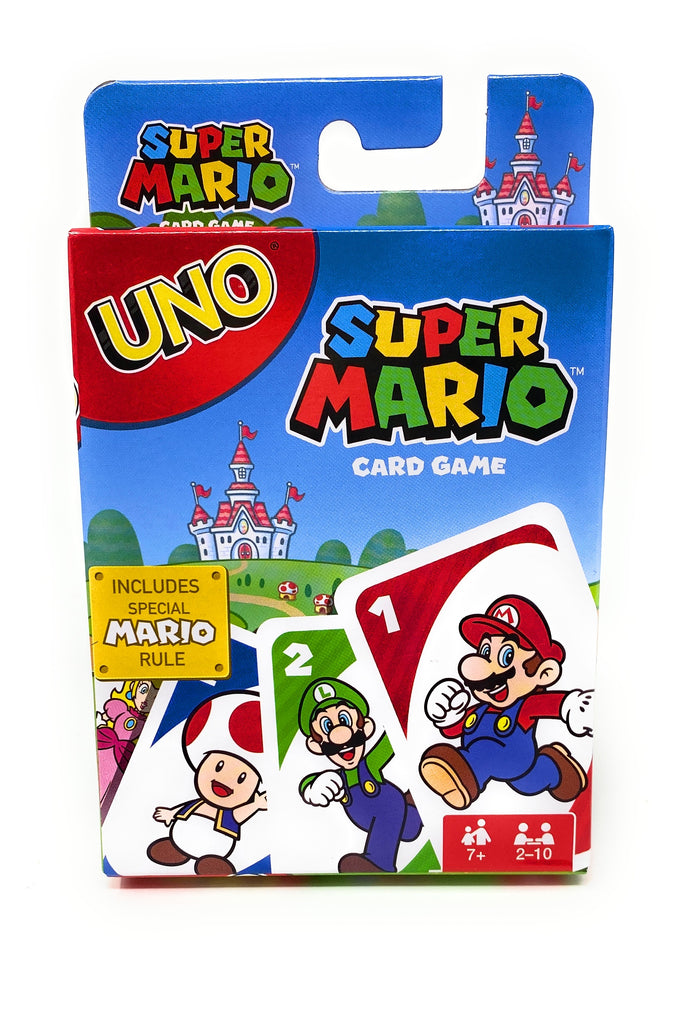 Super Mario UNO Playing Card Game by Mattel Games