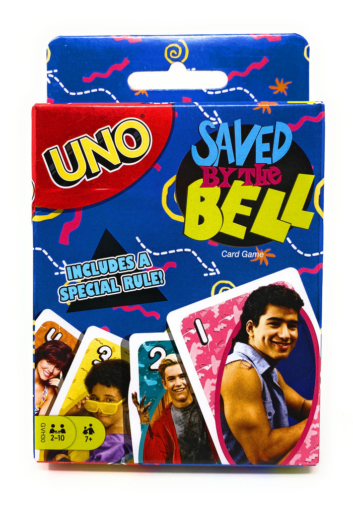 Saved By The Bell UNO Playing Card Game by Mattel Games