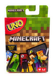 Minecraft UNO Playing Card Game by Mattel Games