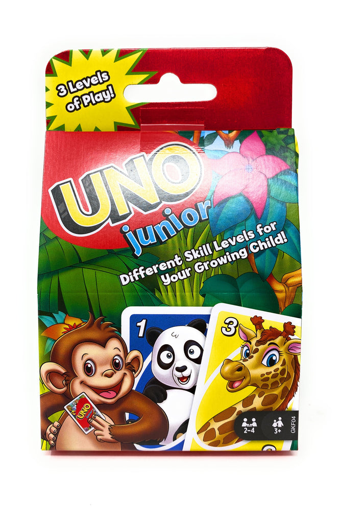 UNO Junior UNO Playing Card Game by Mattel Games