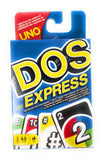 DOS Express Playing Card Game by Mattel Games