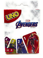 Marvel Avengers UNO Playing Card Game by Mattel Games