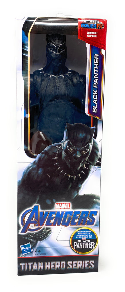 Titan Hero Series Marvel Avengers Black Panther 12 Inch Action Figure