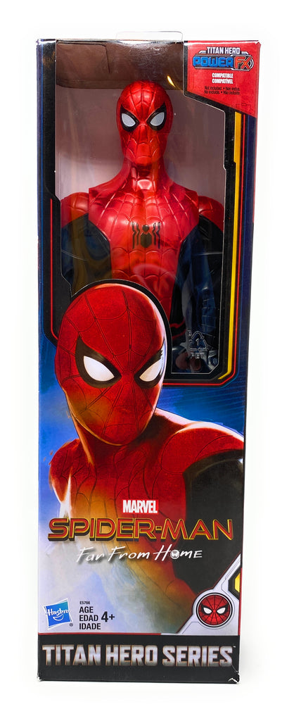 Titan Hero Series Marvel Spider-Man Far From Home Spider-Man 12 Inch Action Figure
