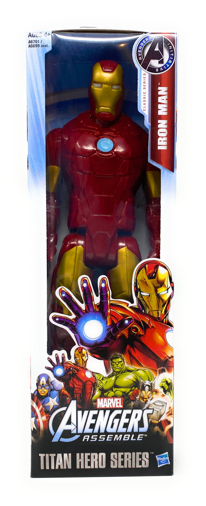Titan Hero Series Marvel Avengers Assemble Iron Man 12 Inch Action Figure