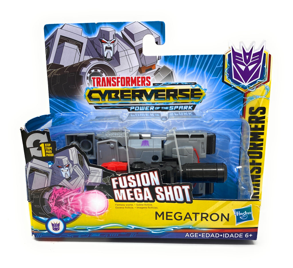 Transformers Cyberverse Power of The Spark Fuison Mega Shot Megatron