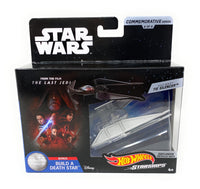Star Wars Commemorative Series Kylo Rens Tie Silencer Hot Wheels Starships 8 of 9