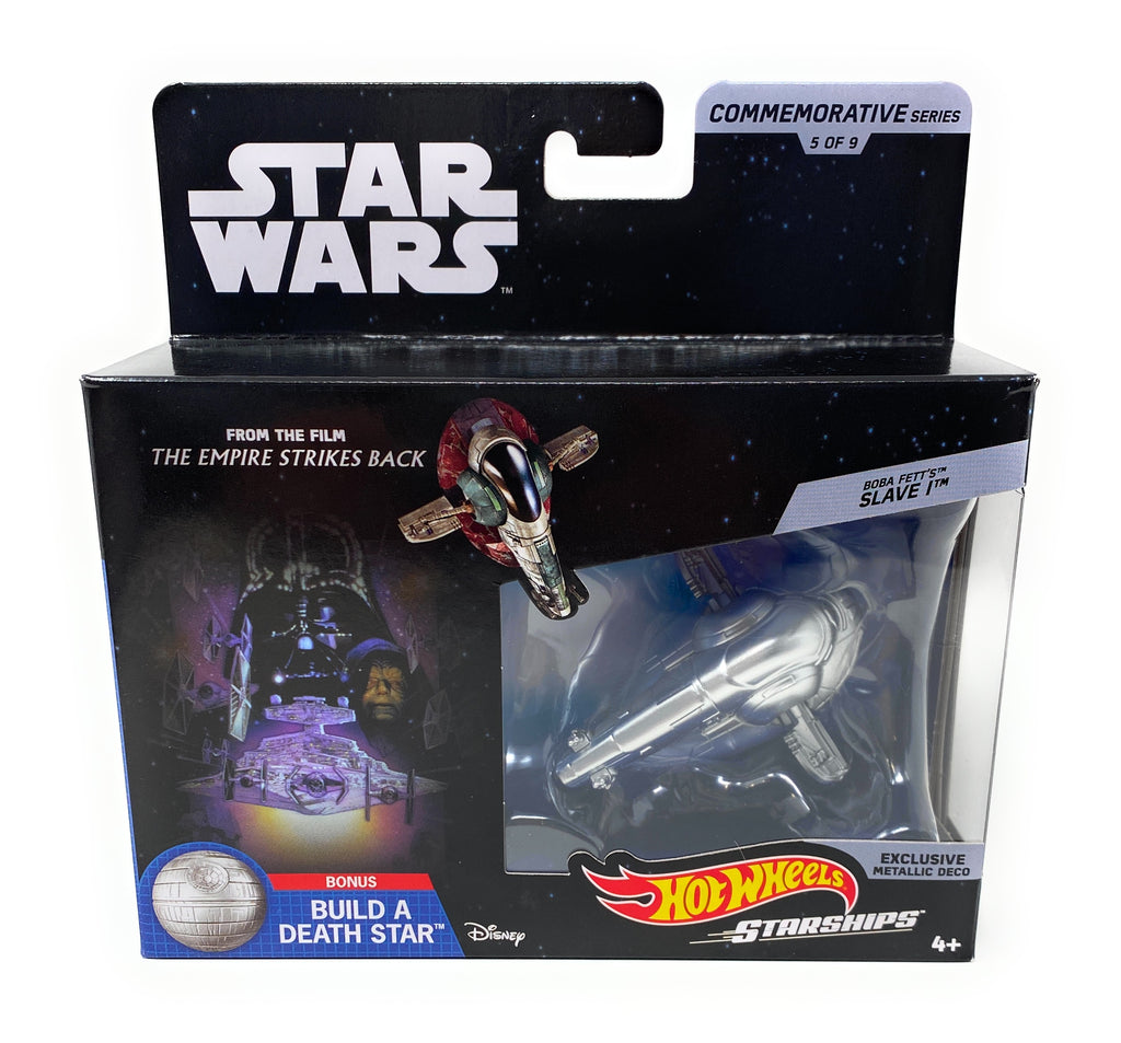 Star Wars Commemorative Series Boba Fetts Slave 1 Hot Wheels Starships 5 of 9