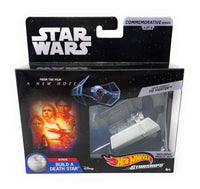 Star Wars Commemorative Series Darth Vaders Tie Fighter Hot Wheels Starships 4 of 9
