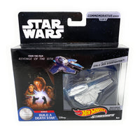 Star Wars Commemorative Series Obi Wan Kenobis ETA 2 Jedi Starfighter Hot Wheels Starships 3 of 9