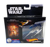 Star Wars Commemorative Series Naboo Starfighter Hot Wheels Starships 1 of 9