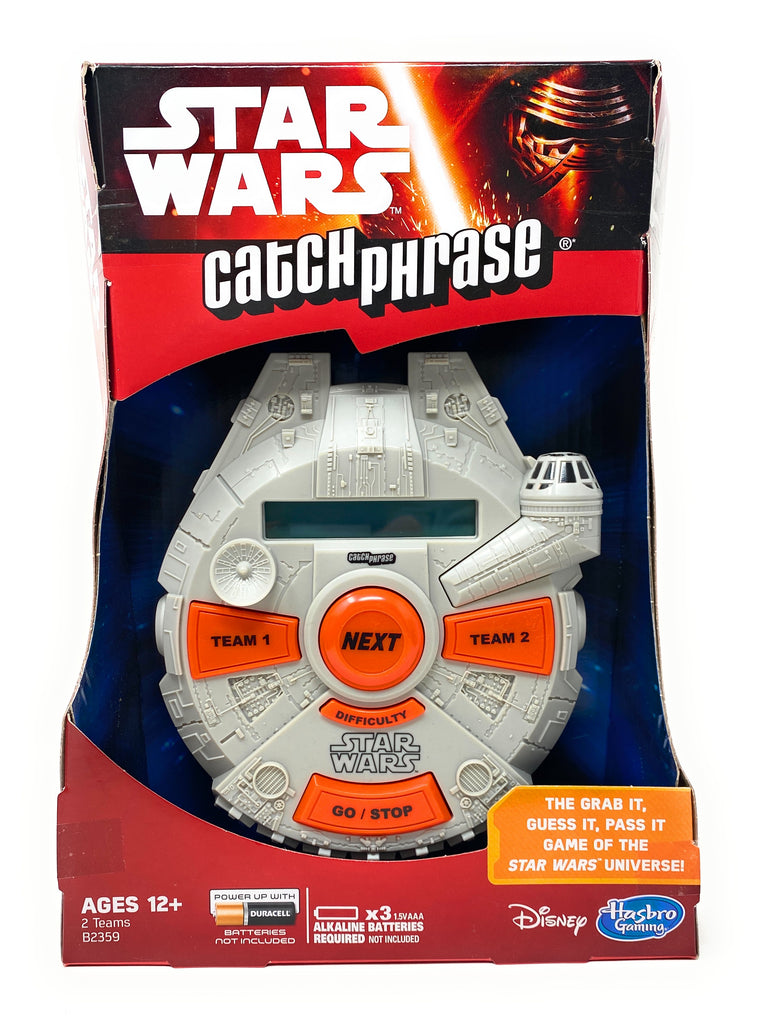 Disney Star Wars Catch Phrase Game