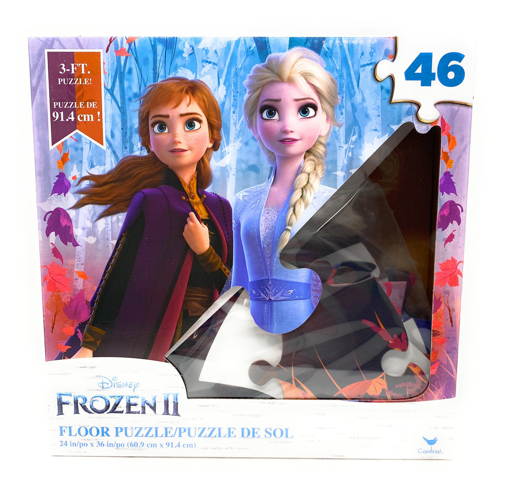 Disney Frozen II 46 Piece 3 ft Floor Puzzle