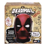 Marvel Legends Deadpool's Head - Interactive, Moving, Electronic Talking Deadpool