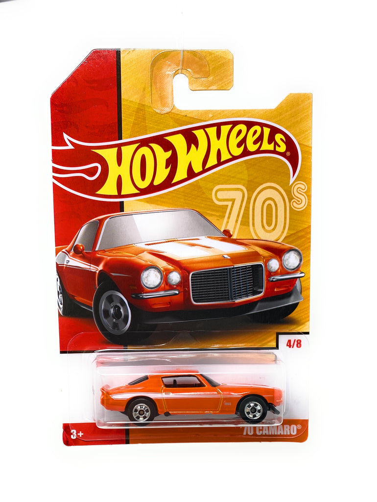 Hot Wheels '70 Camaro from the Target Decades Throwback Set 4/8
