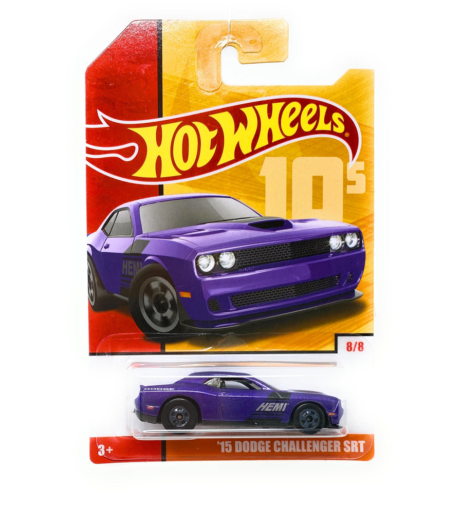 Hot Wheels '15 Dodge Challenger SRT from the Target Decades Throwback Set 8/8