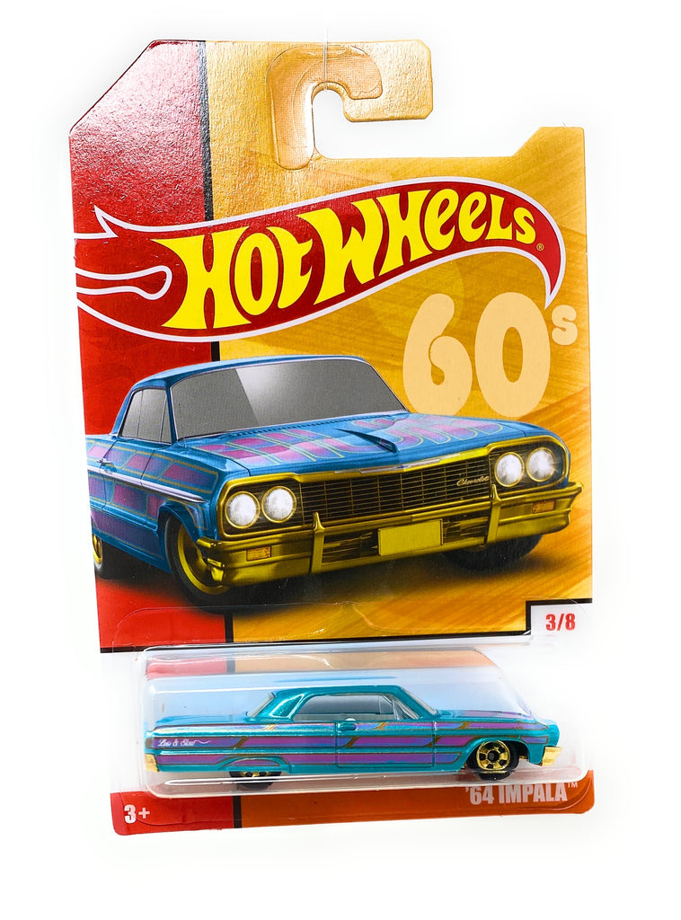 Hot Wheels '64 Impala from the Target Decades Throwback Set 3/8
