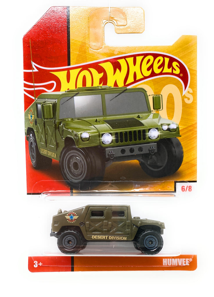 Hot Wheels Humvee from the Target Decades Throwback Set 6/8