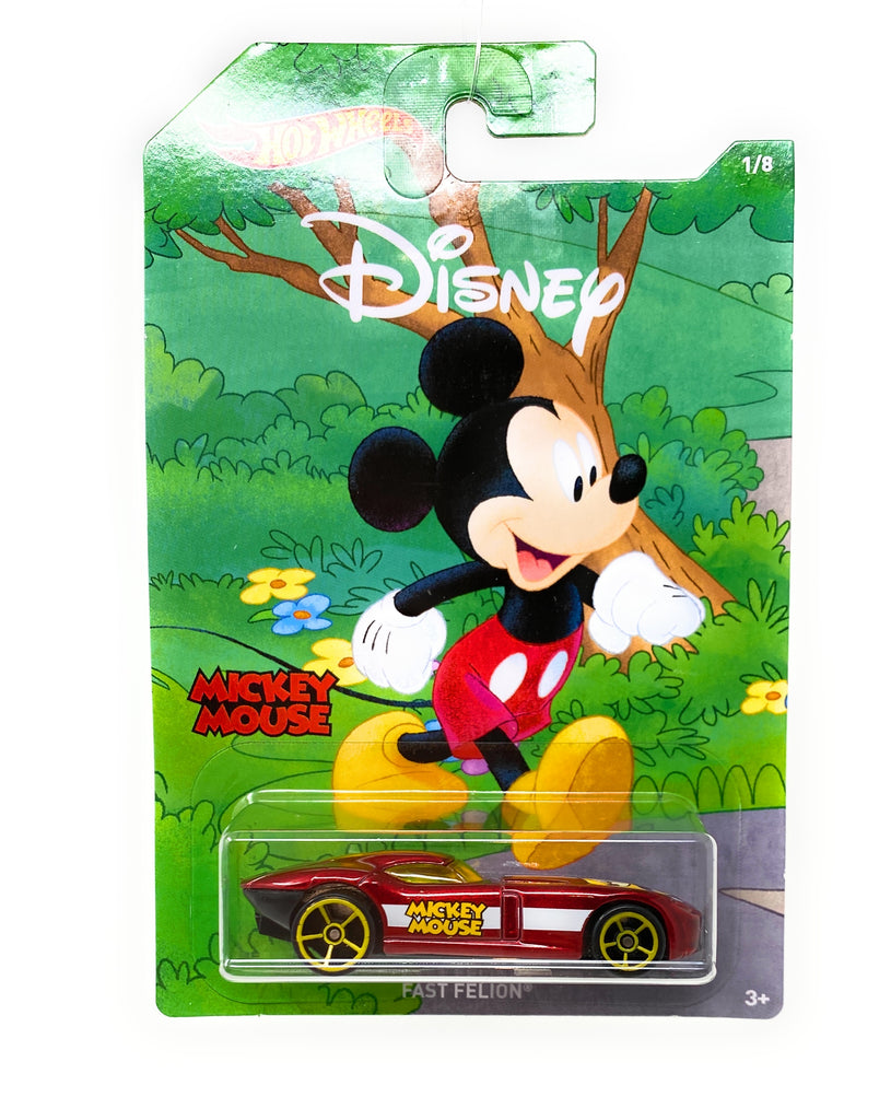 Hot Wheels Fast Felon from the 2017 90th Mickey the True Original Set 1/8