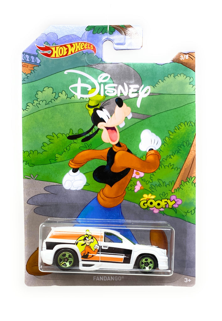 Hot Wheels Fandango from the 2017 90th Mickey the True Original Set 3/8