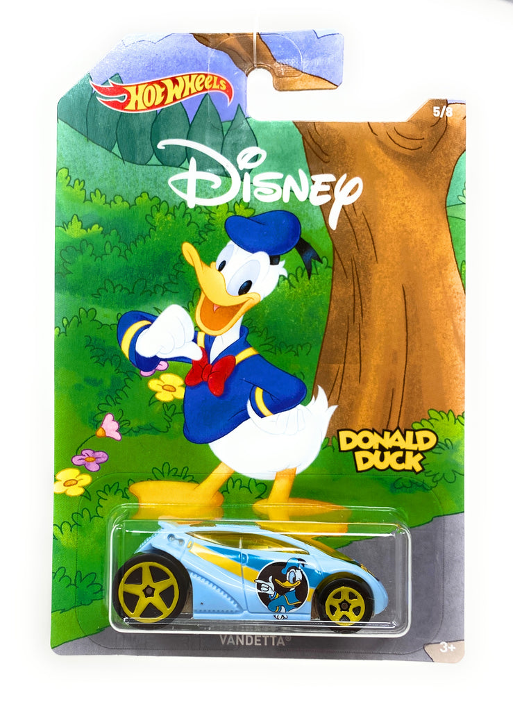 Hot Wheels Vandetta from the 2017 90th Mickey the True Original Set 5/8